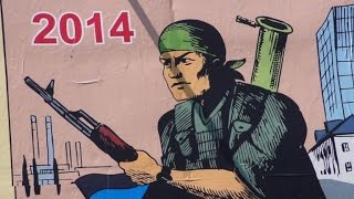 Rebels in east Ukraine appeal to WWII spirit with Soviet posters