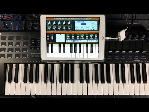 NLog Pro Synthesizer - Let's Play Another Classic iPad Synth - Live