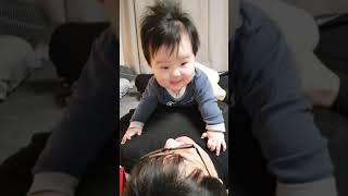 [육아일기] 179일_아빠의 재원이 웃기기 도전