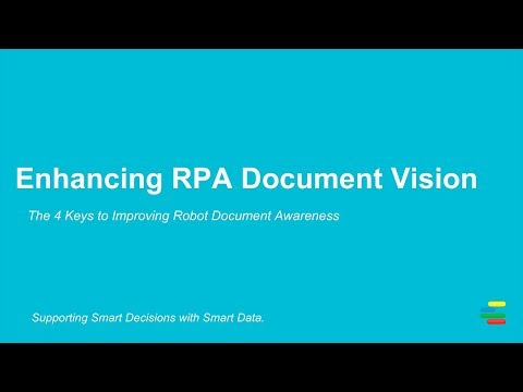 Enhancing RPA Document Vision   Ephesoft
