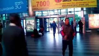 ЖД Вокзал в Киеве Новые залы(Новый вокзал ЖД в Киеве., 2016-08-30T07:24:24.000Z)