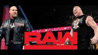 WWE News Brock Lesnar vs. Goldberg Plans Exposed WWE RAW News On Seth Rollins Chris Jericho KO