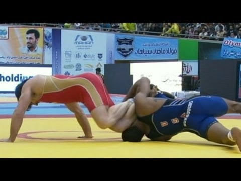 America, Iran Find Common Ground on the Wrestling Mat