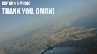 Captain's music: Thank you, Oman!