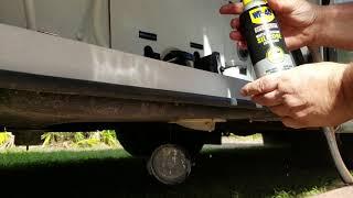 RV waste valve repair/lubrication