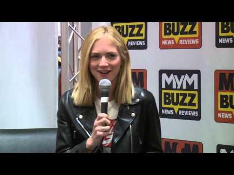 Emily Wickersham MCM Buzz stage Episode 13 // MCM London Comic Con