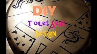 DIY Custom Toilet Seat
