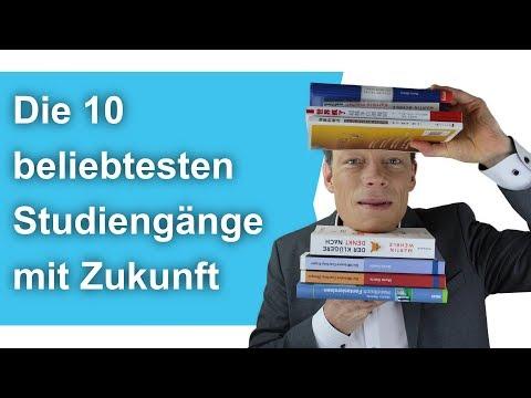Die 10 Beliebtesten Studiengänge Mit Zukunft // M. Wehrle