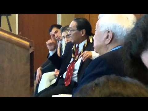 Part 12: DOI Native Hawaiian Recognition Hearing in Connecticut August 7, 2014