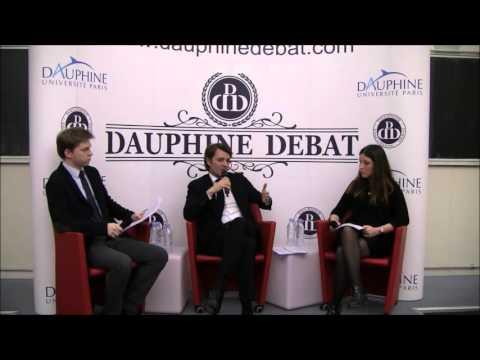 François Baroin à Dauphine (Dauphine Discussion Débat)