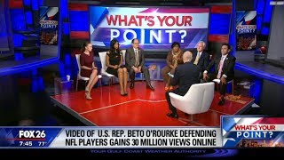 What's Your Point? - Beto O'Rourke and the NFL anthem protests