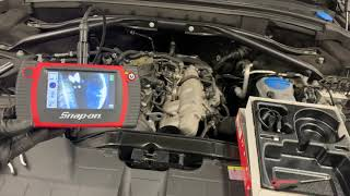 Замена масла в двигателе и сброс сервиса на AUDI Q5