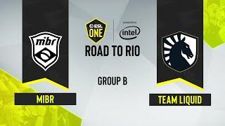 CS:GO - MIBR vs. Team Liquid [Dust2] Map 1 - ESL One: Road to Rio - Group B - NA