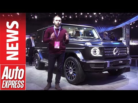 New Mercedes G-Class arrives in Detroit - or is that the old Mercedes G-Class?