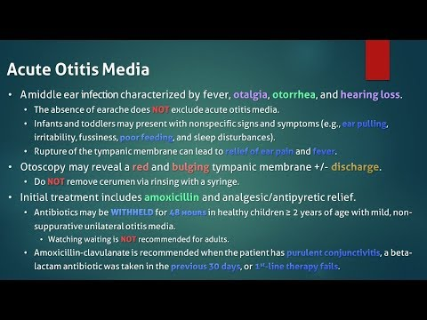 watchful waiting fro otitis media Watchful waiting for nonsevere acute otitis media can be as acceptable to parents as immediate antibiotic treatment—if parents are properly educated about the options, new study findings and survey results indicate.