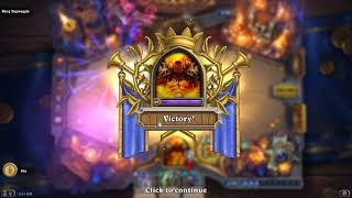 Hearthstone Dungeon Run final boss with all classes (Kobolds & Catacombs)