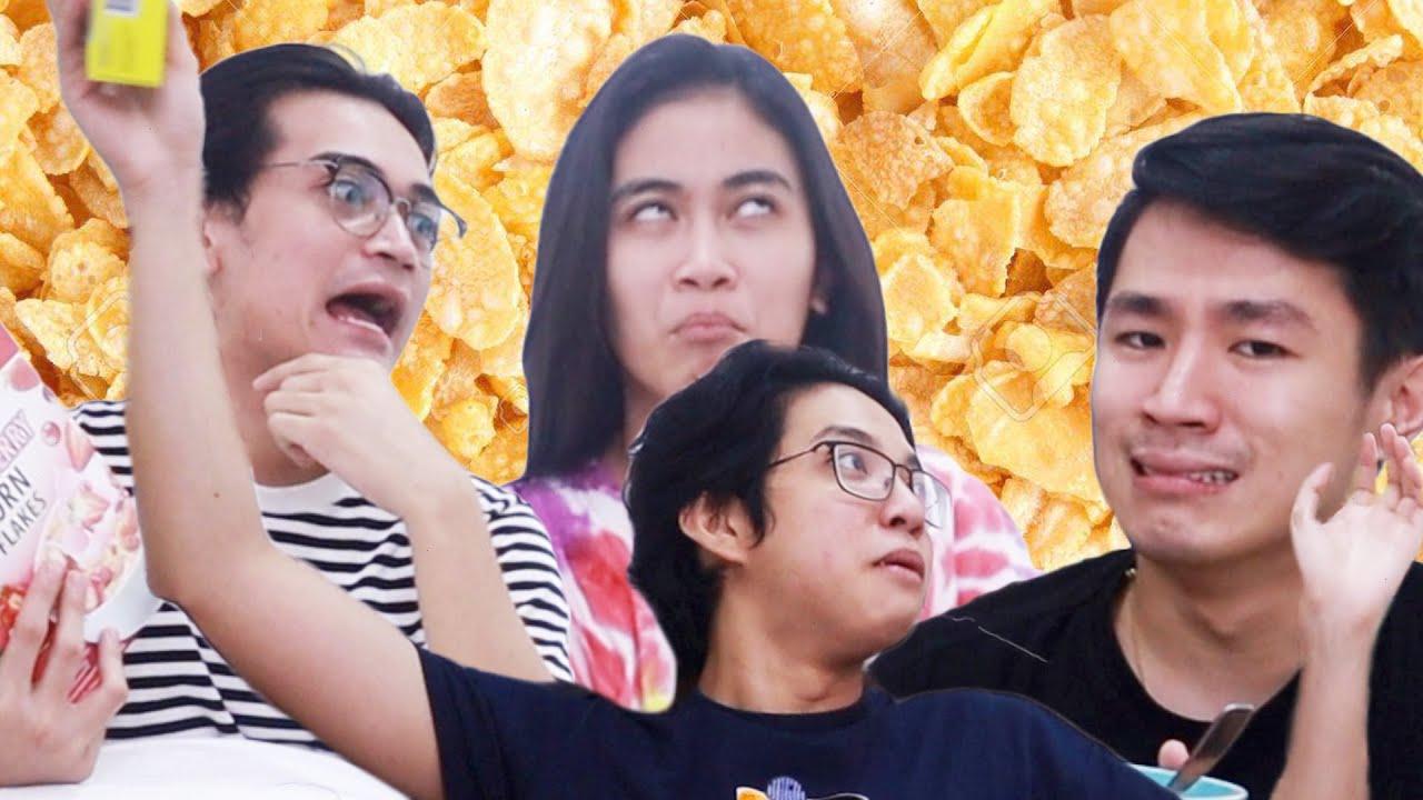na cancelledt kami ng di namin namalayan (cereal mukbang)