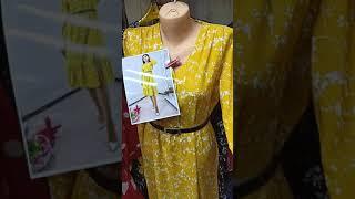 Видео Женская одежда пошив Киргизия. Весна 2021 г. Рынок Дордой.