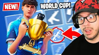 """New """"WORLD CUP"""" UPDATE in Fortnite!"""