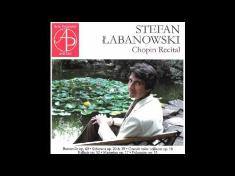 Frédéric Chopin, Polonaise in A flat major Op. 53, Stefan Łabanowski, piano