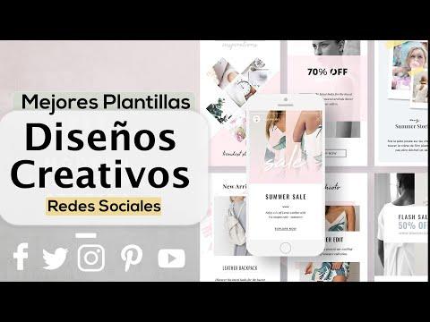 Guía Completa: Crear Imagenes Creativas con Plantillas | Redes Sociales 2019