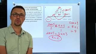 Sayısal Mantık Test 7 Şekil Sayı İlişkileri Orijin Matematik