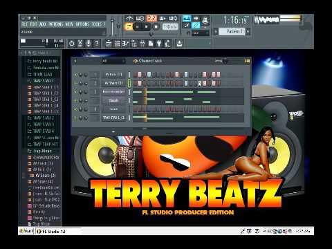 Terry Beatz making trap/club beat