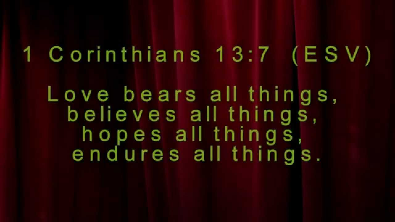 Bible Quotes About Relationships Interesting Bible Verses On Relationships  Youtube