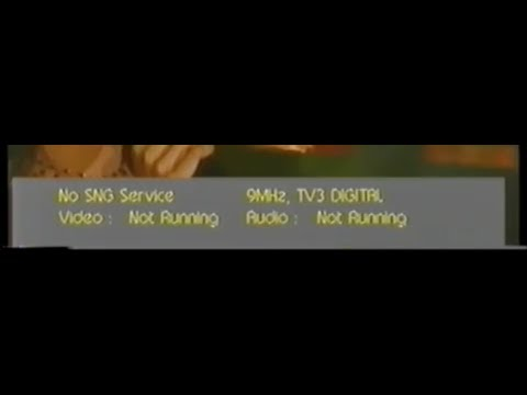 TV3 digital satellite technical difficulties 1999