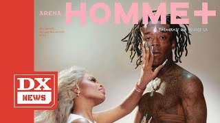 Lil Uzi Vert & City Girls' JT Cover 'Arena Homme +' Magazine - In Their Underwear