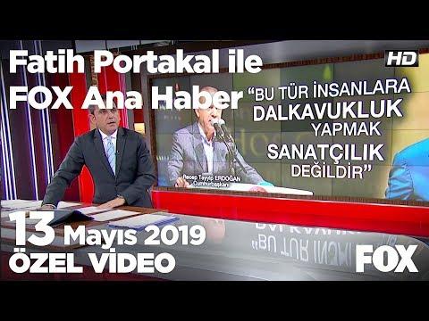 İmamoğlu'na Bağış Yaptı Diye Bıçaklandı! 13 Mayıs 2019 Fatih Portakal Ile FOX Ana Haber