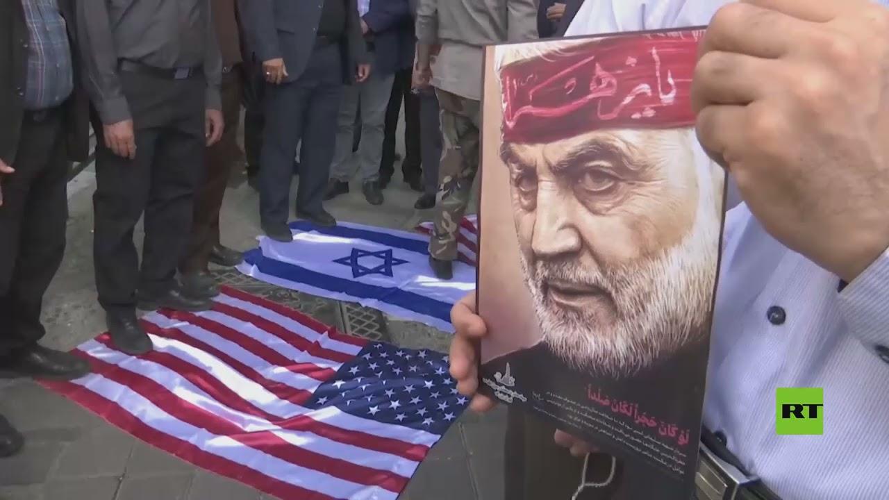 شاهد.. إحراق علمي أمريكا وإسرائيل أثناء فعاليات يوم القدس في طهران  - نشر قبل 3 ساعة