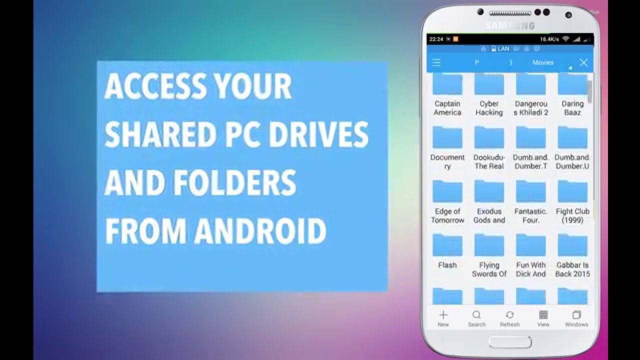 Phone Access Pc From Android Phone access your shared pc drives and folders from android mobile es file explorer