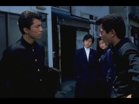 """ヒロシが警察にパクられてヤケ気味のトオルに北高維新軍団の魔の手が迫る!ヒロイン役""""五中の鬼姫""""翔子を立花理佐が演じている。"""