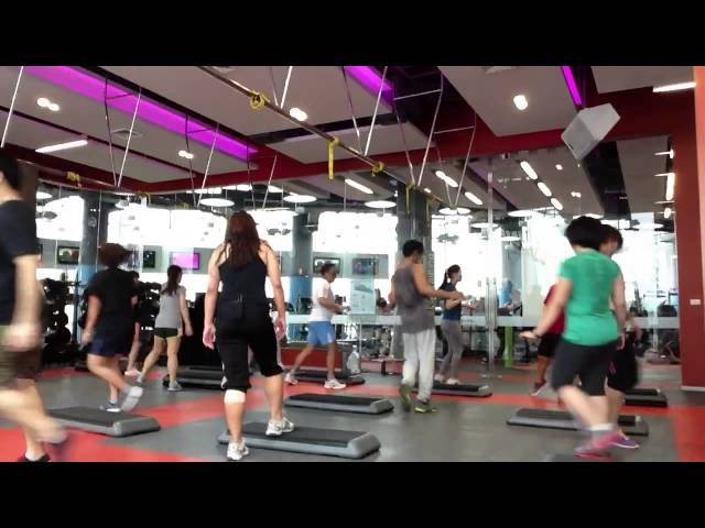 Easy Step by Bella - Fitness First Terminal 21 (23JUN13)