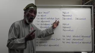 Let's Speak Arabic Unit One, Lesson Twenty-Two