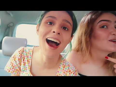 JEBE & PETTY DOES THEIR MAKEUP IN A MOVING CAR (CHALLENGE)