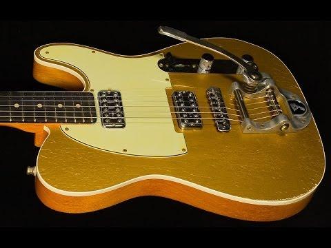 Fender Custom Shop 2014 NAMM Double TV Jones Telecaster Relic  •  SN: R72060