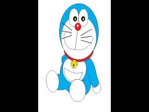 48+ Terkeren Cara Membuat Gambar Animasi Doraemon