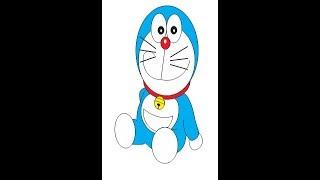 Tutorial Doraemon Coreldraw
