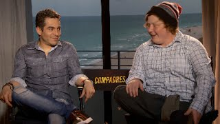 Compadres Movie Interview with Omar Chaparro and Joey Morgan