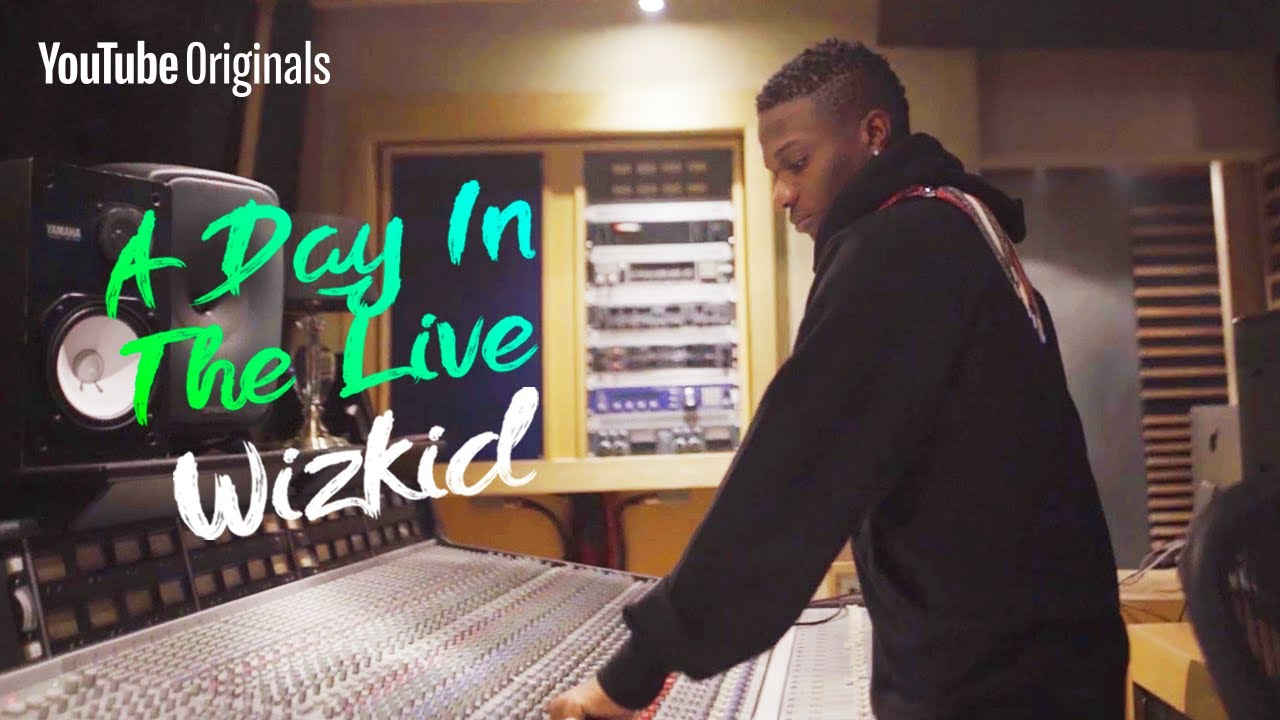 Inside the Studio   A Day In The Live: Wizkid