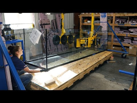 How Custom Aquariums Are Made - Factory Tour