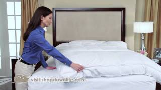 How To Keep Your Feather Bed From Sliding Around - Downlite
