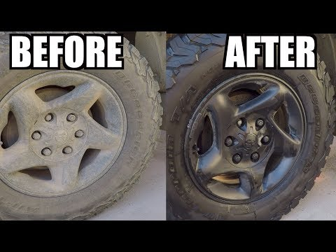 How To Super CLEAN Tires