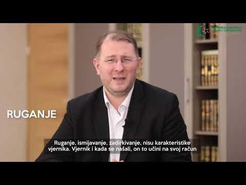 Poziv vjernicima (24) - Edeb u odnosu prema vjerniku - doc. dr. hafiz Kenan Musić