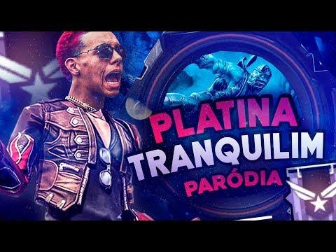 "MC RICK - MEC MEC  (PARÓDIA) FREE FIRE ""PLATINA TRANQUILIN"""