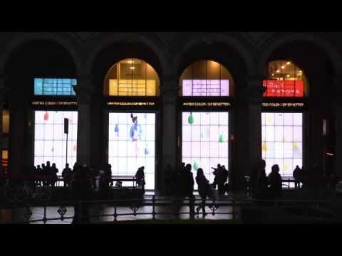 Benetton - Live Windows Milan ( Pâque 2013 )