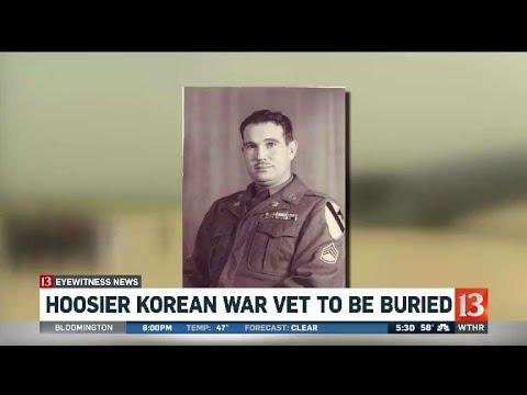 Hoosier Korean War veteran to be buried