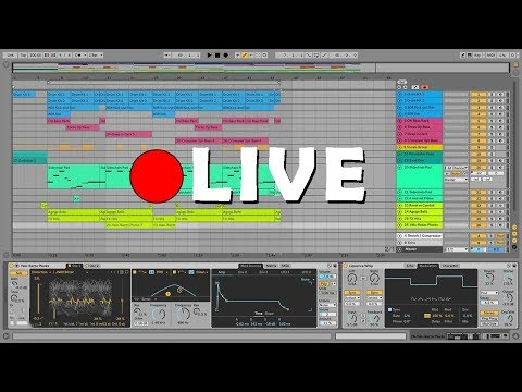 Making some Dark Trap/Hip Hop Type beat 🔴 LIVE Ableton session